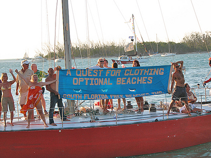 Nudists Defend the Conch Republic